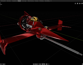 3D print model SpaceShip Swordfish II