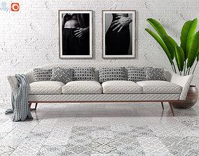 3D model Sofa by Ico Parisi