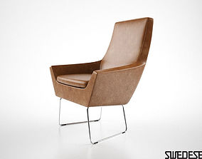 Swedese Happy Easy Chair 3D model