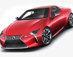 Lexus LC500 Convertible 2020 3D model