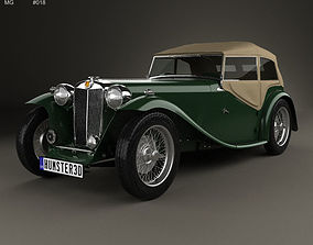 3D MG TC Midget 1945