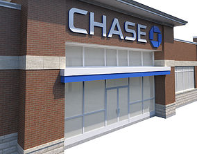 Chase Bank 3D