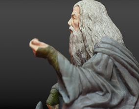 Gandalf The Lord of the Rings character 3D model