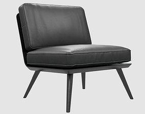 Spine Lounge Suite Chair Petit Fredericia max fbx 3D model