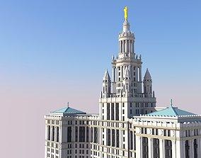 Manhattan Municipal Building 3D print model