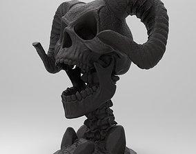 DEMON SKULL 3D print model figurines