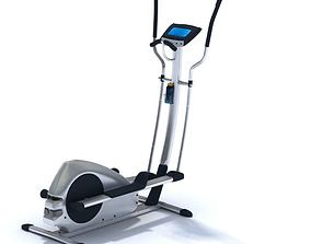 Gym Equipment For Workouts 3D model
