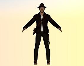 3D model Indiana Jones