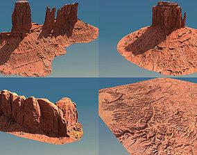 3D model Arizona Valley Scan Pack