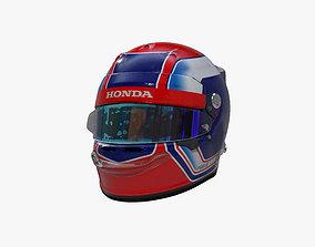 3D model Gasly helmet 2019