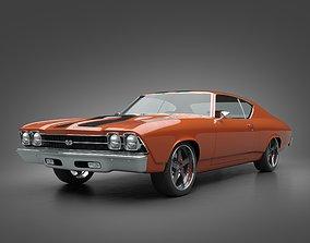 3D model 1969 Chevrolet Chevelle SS