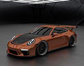 2017 Porsche 911 GT3 991 by Kaiser Design 3D model