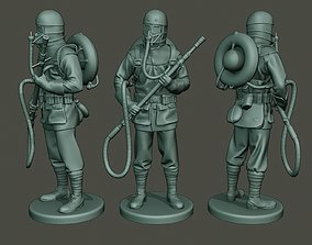 3D printable model German soldier ww1 stand G5