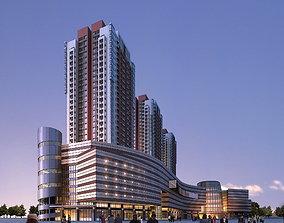 Skyscraper Design with Complex 3D model