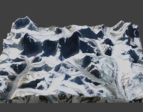 Cho Oyu Mountain 3D model