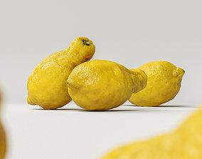 Lemon 002 citron 3D model