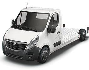3D Vauxhall Movano FWD LL35 L3H1 Platform Cab 2014