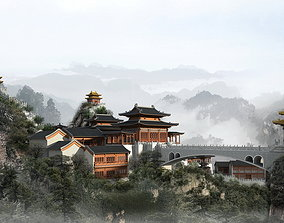 The Ancient Chinese Temples 018 3D