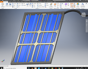 Space Engineers Solar Cell 3D printable model