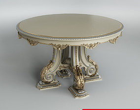 3D table Classic Round Table
