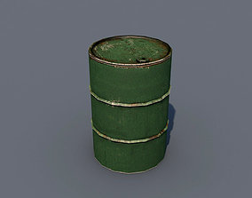 Oil Barrel 3D asset realtime barrel
