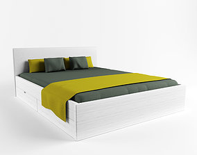 3D model Bed City