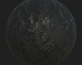 3D Burnt wood