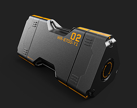 3D model Sci-Fi Box-01