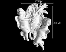 ANGEL 3D PRINT MODEL 3D asset realtime