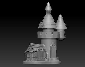 Mini Castle for your Office table and 3D printable model