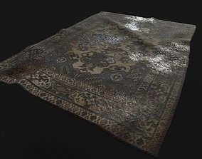 3D asset Old Dirty Carpet
