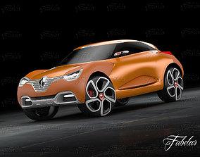 Renault Captur concept 3D model