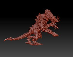 3D print model Tyrannic Bug War Fighter