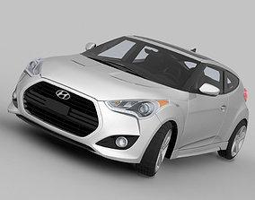3D model Hyundai Veloster Turbo 2013