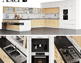 3D model Aster Kitchen Timeline