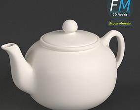 3D Porcelain teapot 1