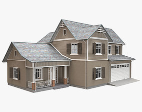 Traditional House 16 3D asset
