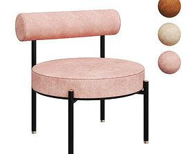 3D model rest lounge chair