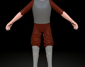 3D model free man