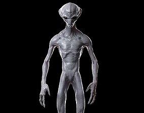 Alien 3D model rigged VR / AR ready