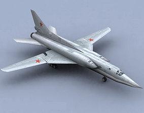 3D asset Tu-22 Soviet Bomber Backfire