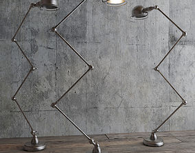 ATELIER SCISSOR TASK FLOOR LAMP 3D