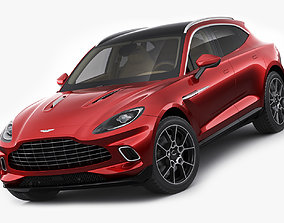 3D model Aston Martin DBX