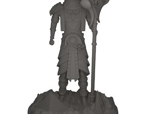 Egyptian God Ra 3D print model