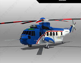 Sikorsky S-61 3D