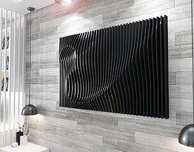 Parametric panel 3D model
