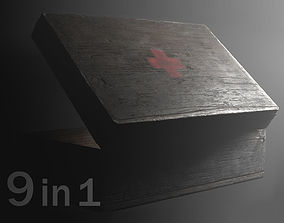 first aid kit 3D model animated game-ready