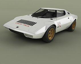 Lancia Stratos HF Prototype 3D