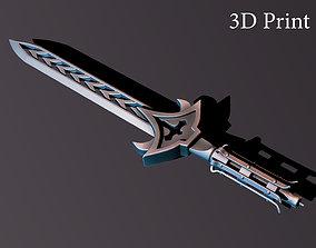 3D print model Candle sword