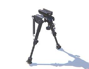 Tactical Rifle Bipods 3D model